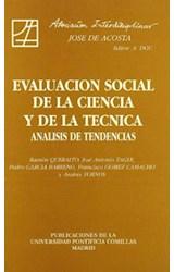 Papel EVALUACION SOCIAL DE LA CIENCIA Y DE LA...