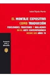 Papel EL MONTAJE EXPOSITIVO COMO TRADUCCION