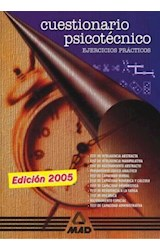 Test CUESTIONARIO PSICOTECNICO (EJERCICIOS PRACTICOS)