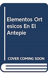Papel ELEMENTOS ORTESICOS EN EL ANTEPIE