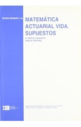Papel MATEMATICA ACTUARIAL-VIDA. SUPUESTOS