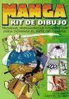 Libro Kit De Dibujo Manga