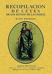 Papel Recopilación De Leyes De Los Reinos De Las Indias (3 Tomos)