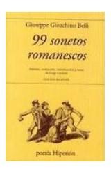Papel 99 SONETOS ROMANESCOS