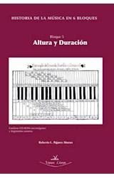 E-book Historia de la música en 6 bloques. Bloque 5: ajtúra y duración