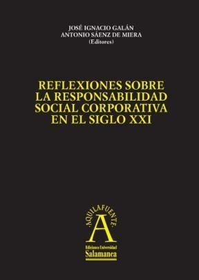 E-book Reflexiones Sobre La Responsabilidad Social Corporativa En El Siglo Xxi
