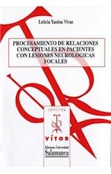 E-book Procesamiento de relaciones conceptuales en pacientes con lesiones neurológicas focales