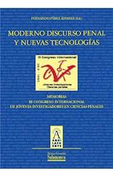 E-book Moderno discurso penal y nuevas tecnologías