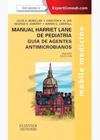 Papel Manual Harriet Lane De Pediatría, Guía De Agentes Antimicrobianos + Expertconsult