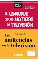 E-book Las audiencias en la televisión y El lenguaje de las noticias de televisión