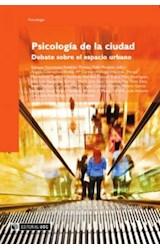 E-book Psicología de la ciudad