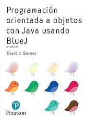 Libro Programacion Orientada A Objetos Con Java Usando Bluej