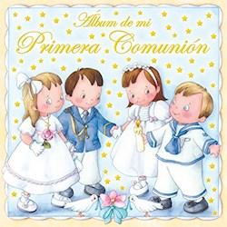 Papel Álbum De Mi Primera Comunión (Amarillo)
