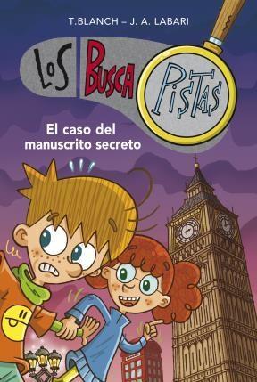 E-book El Caso Del Manuscrito Secreto (Serie Los Buscapistas)