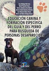 Libro Educacion Canina Y Formacion Especifica Del Guia Y Del Perro