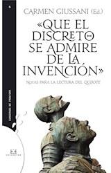 E-book Que el discreto se admire de la invención