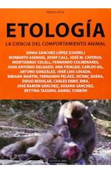Papel ETOLOGIA LA CIENCIA DEL COMPORTAMIENTO ANIMA