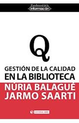 Papel Gestión De La Calidad En La Biblioteca