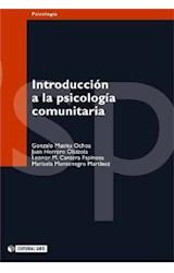 E-book Introducción a la psicología comunitaria