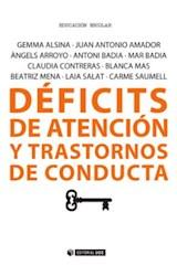 E-book Déficits de atención y transtornos de conducta