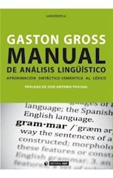 E-book Manual de análisis lingüístico