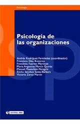 E-book Psicología de las organizaciones