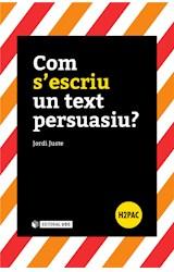 E-book Com s'escriu un text persuasiu?