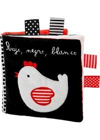 Papel Rojo , Negro , Blanco . Los Amigos De La Gallina