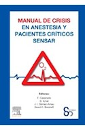 Papel Manual De Crisis En Anestesia Y Pacientes Críticos Sensar