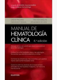 Papel Manual De Hematología Clínica Ed.4º