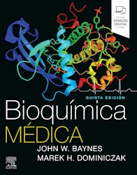 Bioquímica Médica Ed 5º Por Baynes J 9788491134060 Journal