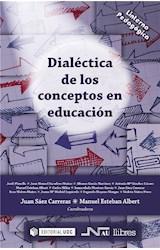 E-book Dialéctica de los conceptos en educación