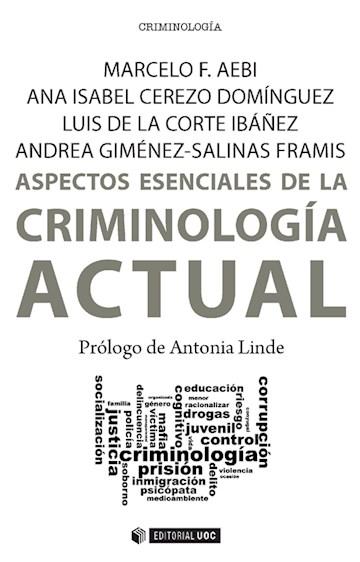 E-book Aspectos Esenciales De La Criminología Actual
