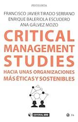 Papel CRITICAL MANAGEMENT STUDIES