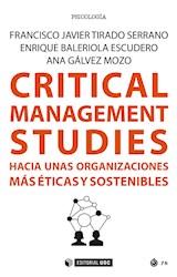 E-book Critical Management Studies