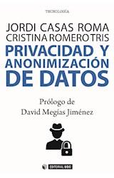 E-book Privacidad y anonimización de datos
