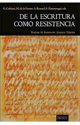 Papel DE LA ESCRITURA COMO RESISTENCIA