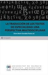E-book La traducción de los textos de especialidad