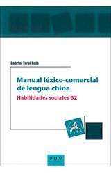 E-book Manual léxico-comercial de lengua china. Habilidades sociales B2