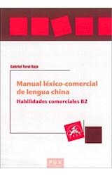 E-book Manual léxico-comercial de lengua china. Habilidades comerciales B2