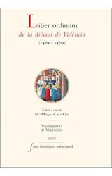 E-book Liber ordinum de la diòcesi de València (1463-1479)