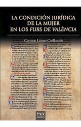 E-book La condición jurídica de la mujer en los Furs de València