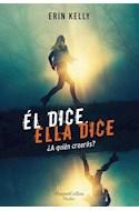 Papel EL DICE ELLA DICE (COLECCION THRILLER)