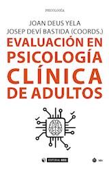 E-book Evaluación en psicología clínica de adultos