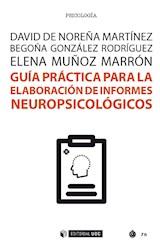 E-book Guía práctica para la elaboración de informes neuropsicológicos