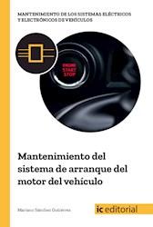Libro Mantenimiento Del Sistema De Arranque Del Motor De