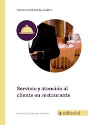 Libro Servicio Y Atencion Al Cliente En Restaurante