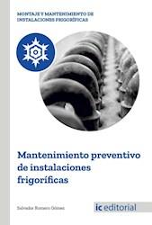 Libro Mantenimiento Preventivo De Instalaciones Frigori