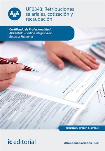 E-book Retribuciones Salariales, Cotización Y Recaudación. Adgd0208