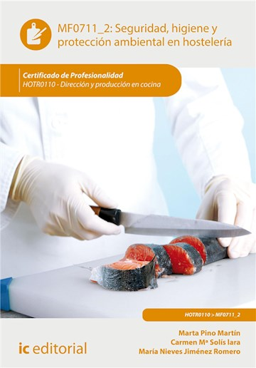 E-book Seguridad E Higiene Y Proteccion Ambiental En Hostelería. Hotr0110